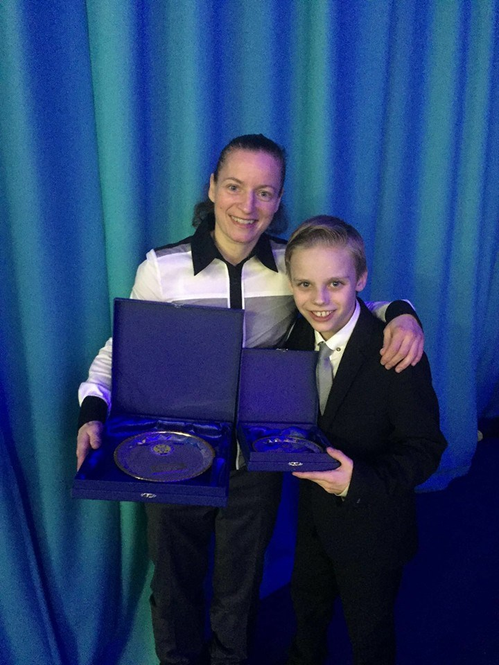 Sharon and Liam awards