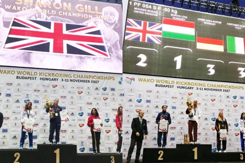 12 November – Gold and silver at the World Championships